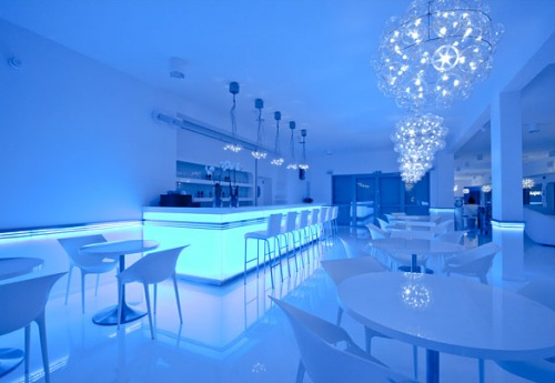 my squash sports club by kreacja przestrzeni studio interior design. Black Bedroom Furniture Sets. Home Design Ideas