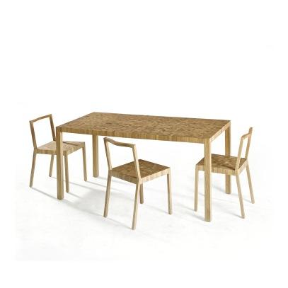 Pixel-Oak-Wood-Dining-Set-from-Contraforma-2