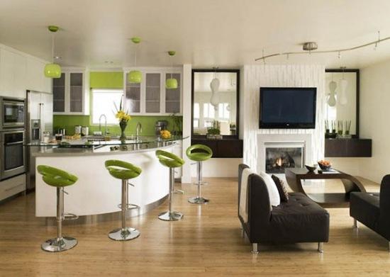 Green-Design-in-a-Modern-Apartment-by-Lori-Dennis-1