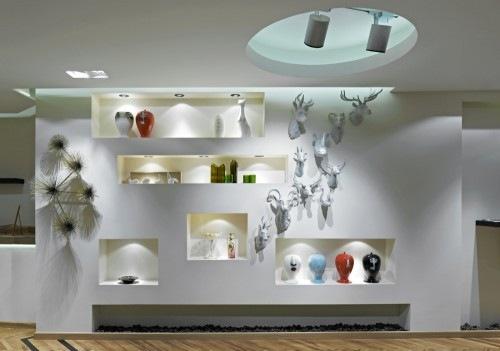 Haaz design art gallery by gad interior design - Art gallery interior design ideas ...